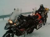 Turcja snieg w gorach z
