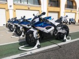BMW S 1000 RR on Monteblanco slick z