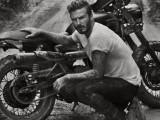 david beckham wasy motocykl z