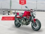 Ducati Monster 821 konkurs Motul z