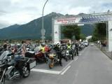 Brama wjazdowa BMW Motorrad Days Garmich Partenkirschen  z