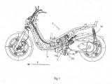 Patent BMW nowy Skuter  z