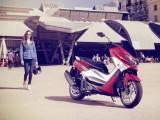 Yamaha NMAX 125 2015 parking z