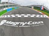 Magny Cours Pirelli linia startu z