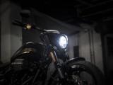 nowy harley breakout lampa z