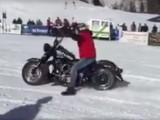 Harley Davidson snow ride z
