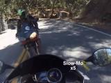 motocyklem na czolowke z