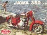 jawa vintage poster z