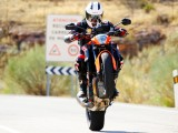 Wheelie KTM SuperDuke 1290 R  z