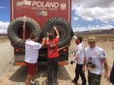 zmiana kola Rajd Dakar 2017 z