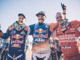 Matthias Walkner Sam Sunderland and Gerard Farres Guell Dakar 2017 z
