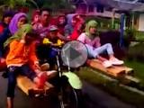 jazda z pasazerem indonezja z
