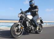Yamaha XSR900 - test motonowo�ci na wyspie Fuerteventura