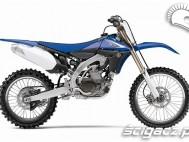 Yamaha YZ450F 2010 prawy bok