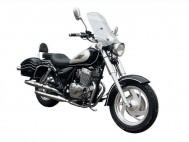 r250 romet motocykl bokiem