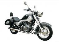r250v romet motocykl bokiem