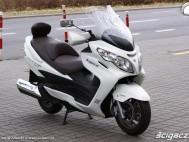 Burgman 400 Suzuki prawy profil
