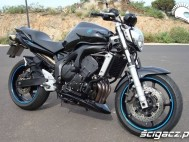 Yamaha FZ6N black blue