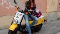 Jeansy motocyklowe na skuter z