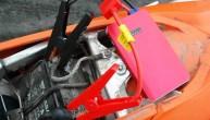 Akumulator rozruchowy K23 na motocyklu z