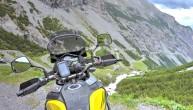 Nawigacja motocyklowa TomTom Rider 550 w akcji z