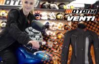 Dobra kurtka na motocykl dla kobiety Motona Venti