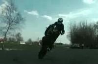 Stunt w Zamosciu - trening wielkanocny