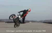 angyal zoltan switchback circles wheelie