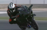 Kawasaki H2 i H2R 2015 - test na torze Losail