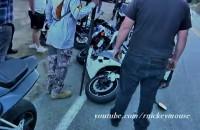 Nieudane wejscie w zakret Yamaha R6
