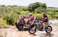 Rafal Sonik o upadku na 1 etapie Rajdu Dakar 2017