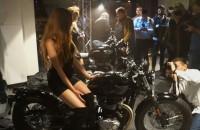 Salon motocykle Triumph Warszawa Jezolimskie 200 - otwarcie