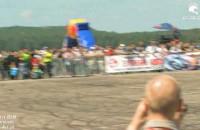 Extrememoto 2010 - Raptowny Hubert Dylon - finalowy przejazd