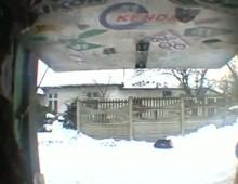 Enduro na sniegu - Pawel Szymkowski
