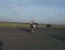 stand wheelie