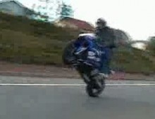 yamaha r1 wheelie carview