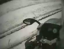 Ducati ST3 - gleba na sniegu