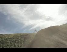 Freestyle Motocross i kamera na zdalnie sterowanym helikopterze