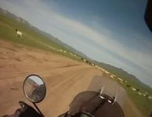 Jak wygladaja drogi w Mongolii