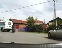 Lamanie przepisow drogowych zakonczone wypadkiem