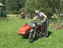 Motocykl z koszem - jak nim zakrecac