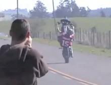 Stunt na Harley-Davidsonach