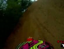 Trening motocross - kamera na kasku Justin Barcia