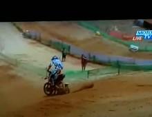 Trik motocrossowy w wykonaniu Kena Roczena