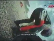 Wypadek Capirossiego - GP Katalonii 2006