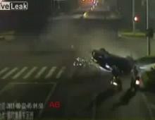 Wypadek motocyklowy - w zlym miejscu o zlym czasie