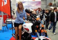 benzer mirtex hostessa targi motocyklowe 2012