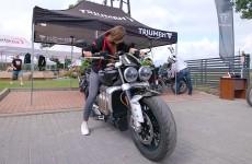 Cala Polska testowala motocykle Triumph Relacja z Triumph Demo Trip 2021  Ilawa