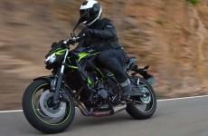 Kawasaki Z650 model 2020 190 cm i 120 kg ridera powinni tego zabronic