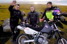 Motocyklem po Kirgistanie Biszkek Song Kol Pierwszy etap Motul Azja Tour